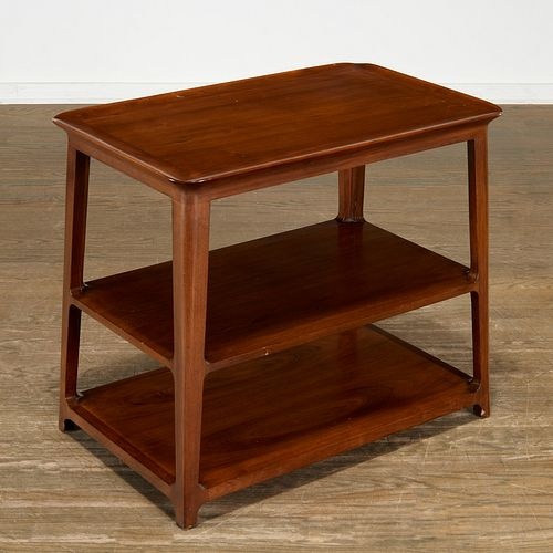 Dunbar Furniture, model 5750 tiered side table