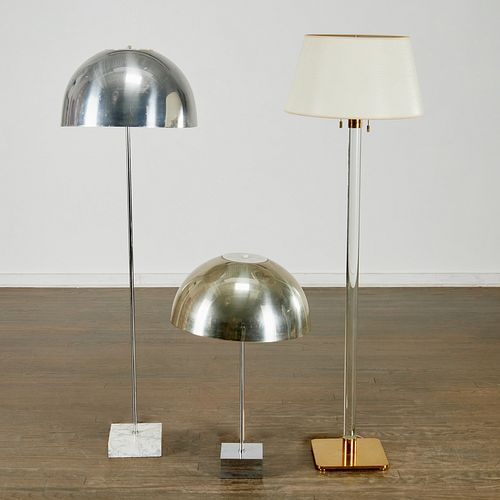(3) Modern lamps incl. Hansen & Paul Mayan