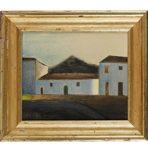 Joseph Stella, oil on canvas