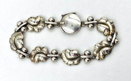 Georg Jensen Sterling Silver Link Bracelet