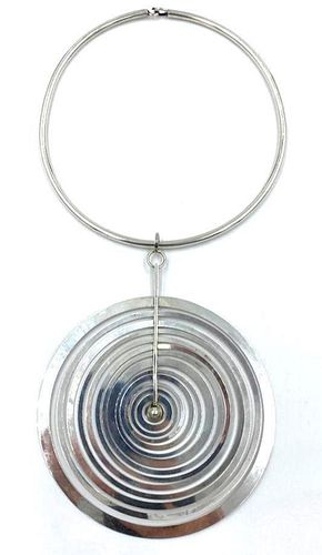 Pendant Necklace by Tapio Wirkkala, Finland C.1969-1972