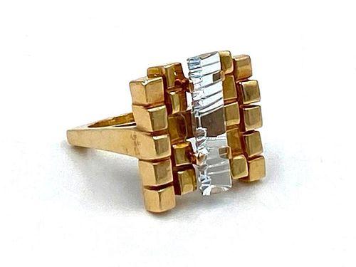 Bernd Munsteiner 14K Gold and Topaz Ring
