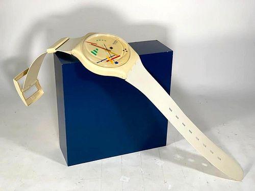 Swatch Watch Oversize Watch Wall Clock