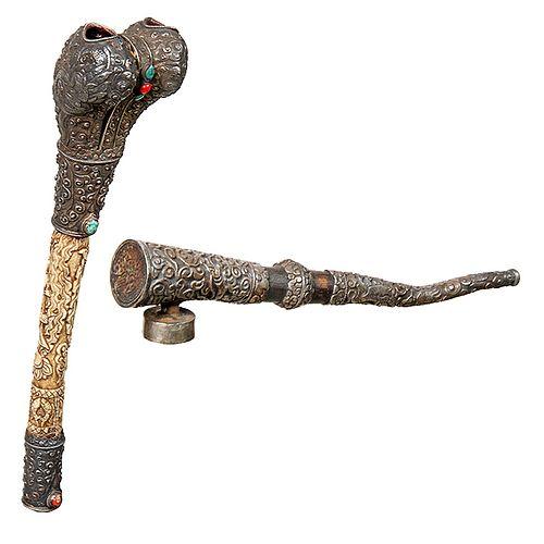Kangling Tibetan/ Buddhism trumpet and Pipe