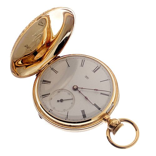 National Watch/Elgin Gold Hunting Case Watch