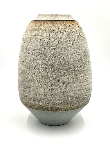 George Roby Tall Ceramic Vase