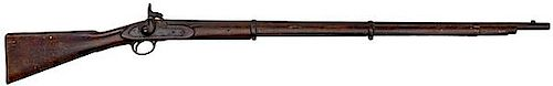 P1853 Enfield Rifled Musket by Barnett with Confederate IC Stock Markings