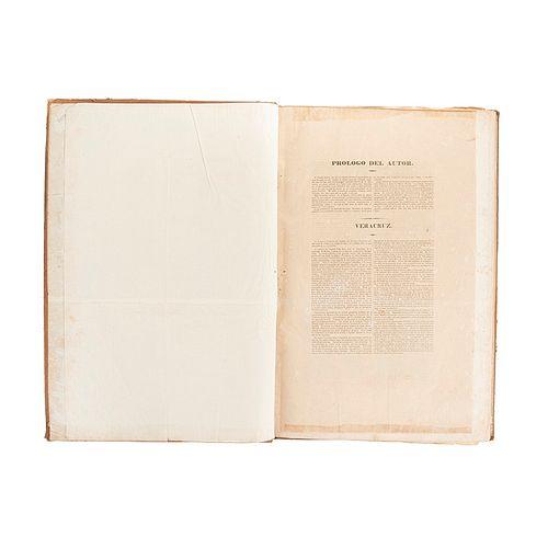 """Nebel,Carl. Colección d Litografías: Tipos, Vistas, Vestigios Prehispánicos. México, ca. 1850. 39 láms. basadas en """"Voyage Pittoresque"""""""