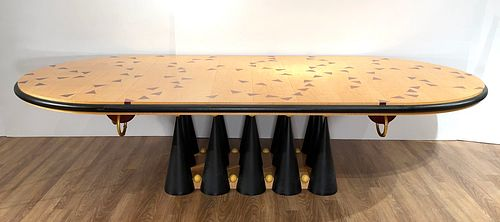 Important Wendell Castle Dining Table