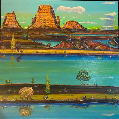 CLAY VORHES, Mesa River Cloud