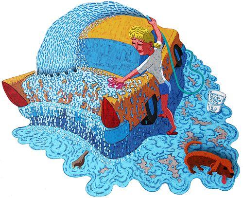 JIM PISKOTI, Car Wash