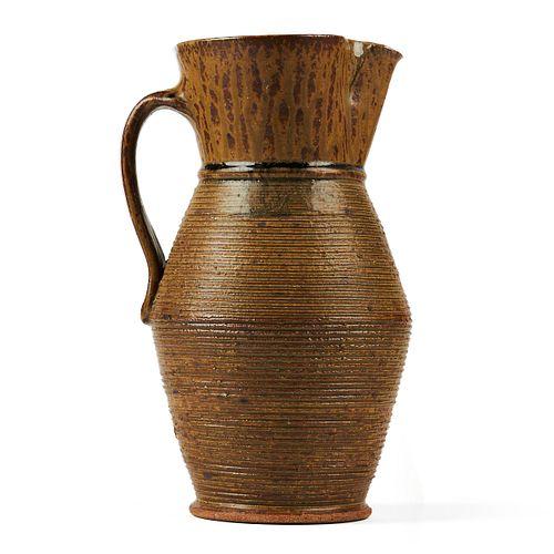 Chuck Solberg Glazed Stoneware Pitcher