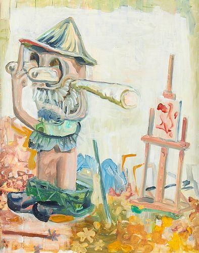 "Bruce Tapola ""Plein-Air Parvenu"" Oil on Canvas 2013"