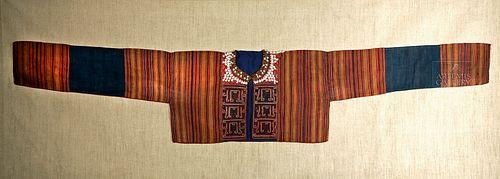 Sumatra Kauer Textile Jacket w/ Cowrie Shells, ca. 1900