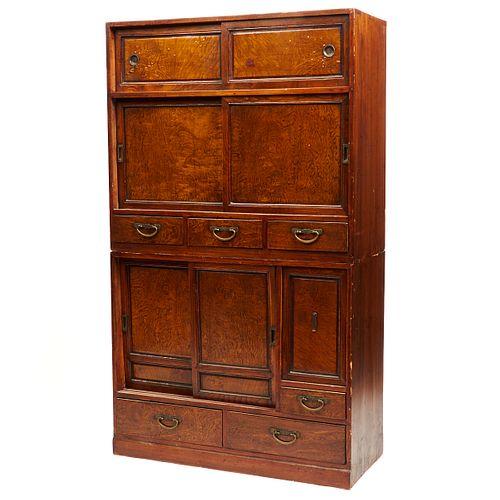 19th c. Korean Wooden Cabinet