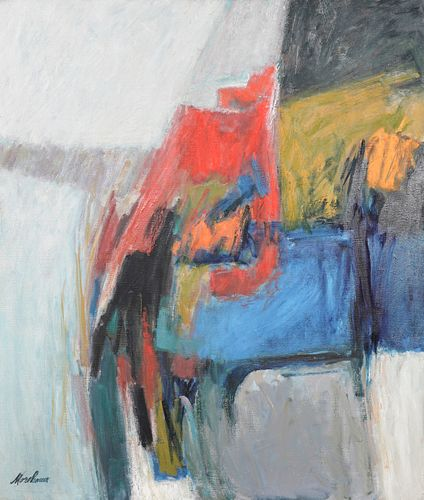 John Morehouse Abstract Oil on Canvas