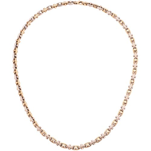 """NECKLACE IN 14K YELLOW GOLD Weight: 52.6 g. Length: 24.4"""" (62.0 cm)"""