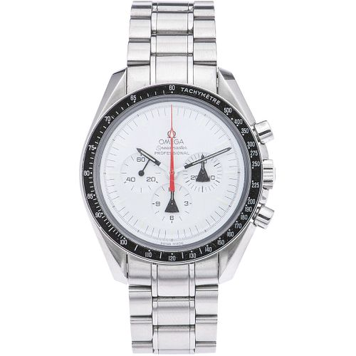 OMEGA SPEEDMASTER PROFESSIONAL MOONWATCH ALASKA PROJECT LIMITED EDITION CHRONOGRAPH WATCH IN STEEL REF. 311.32.42.30.04.001