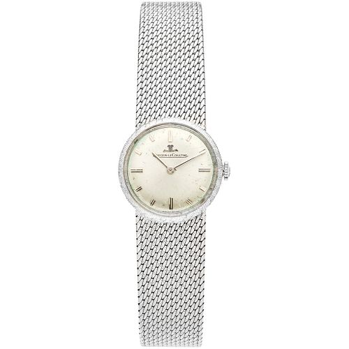 JAEGER-LECOULTRE LADY WATCH IN 18K WHITE GOLD REF. 1689  Movement: manual (doesn't work, requires service). Weight: 43.0 g