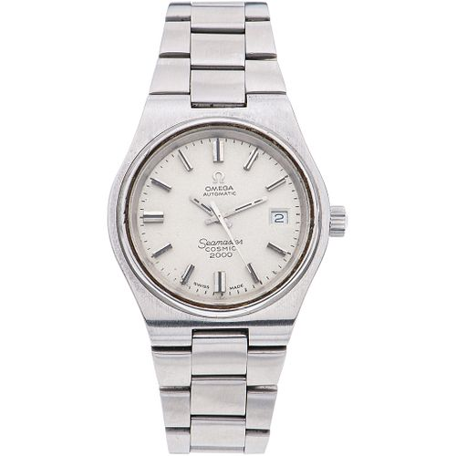 OMEGA SEAMASTER COSMIC 2000 WATCH IN STEEL REF. 166135  Movement: automatic