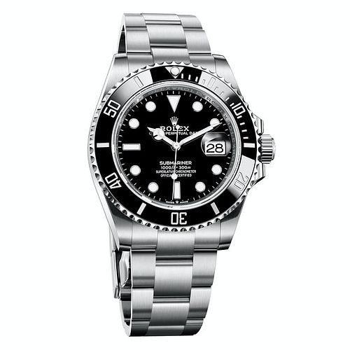 Rolex Submariner Date 41MM Men's Black Watch NEW BOX / CARD