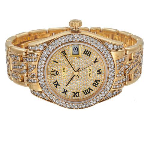 Ladies Rolex, Special Edition Datejust, Diamond, 18k Watch