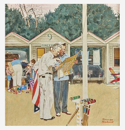 Norman Rockwell (American, 1894–1978) Piney Rest Motel (Cozy Rest Motel)