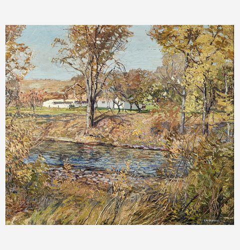 Edward Willis Redfield (American, 1869–1965) Island Farm (The Artist's House)