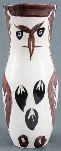 Pablo Picasso Ceramic 'Chouetton' Vase