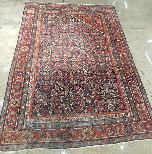 """Persian Hamadan Carpet 10' x 6' 8"""""""