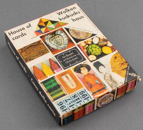 "Charles Eames ""Wolkenkuckuckshaus"" House of Cards"