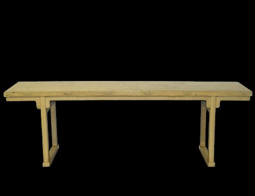 LACQUERED ALTAR TABLE