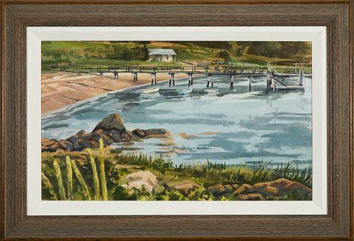 Norman Ringdahl, Long Wharf - Woods Hole