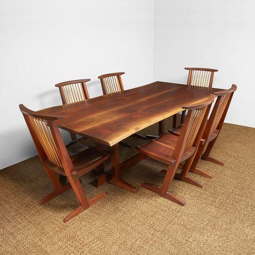 "George Nakashima ""Frenchman's Cove II"" Dining Table, New Hope, Pennsylvania, 1966"