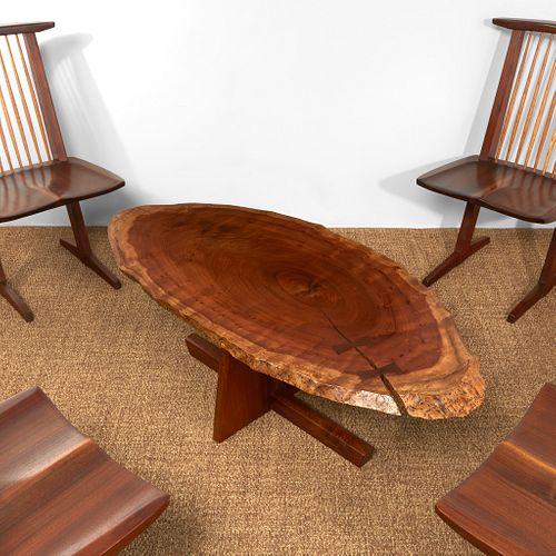 "George Nakashima Special ""Minguren I"" Coffee Table, New Hope, Pennsylvania, 1979"