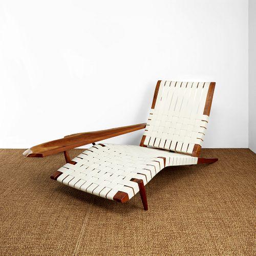 "George Nakashima ""Long"" Chair with Arm, New Hope, Pennsylvania, 1979"