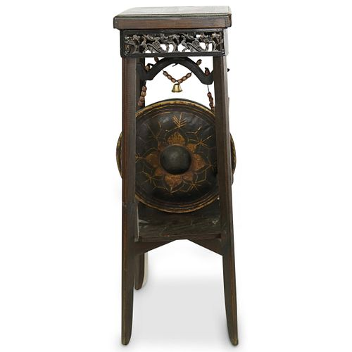 Chinese Wooden Hanging Gong