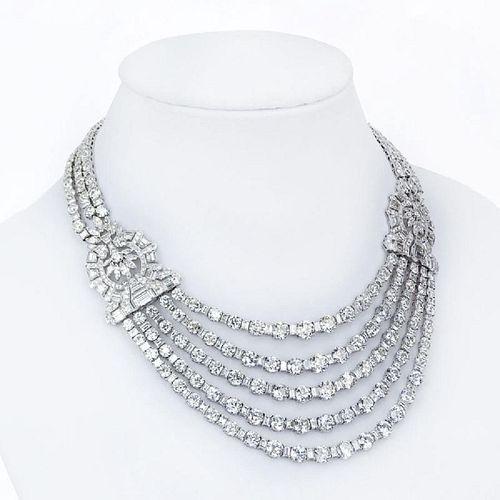 168 Ct Diamond Necklace