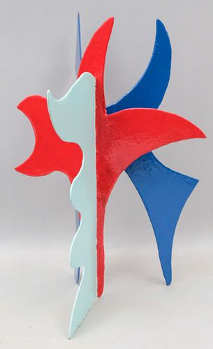 """David Hayes """"Untitled"""" Abstract Steel Sculpture"""