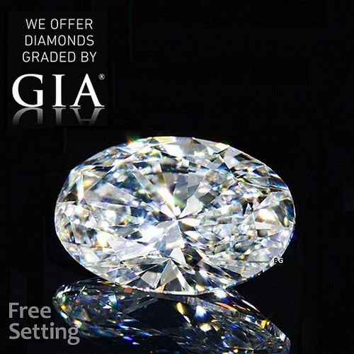 10.44 ct, H/VVS2, Oval cut GIA Graded Diamond. Appraised Value: $1,435,500