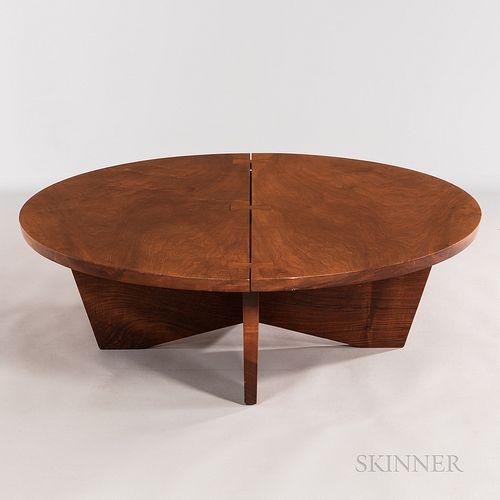 George Nakashima (1905-1990) Round Coffee Table