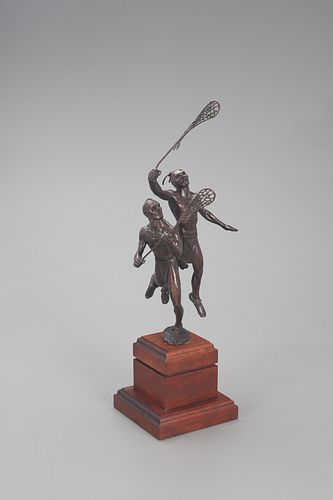 Jud Hartmann (b. 1948), Lacrosse Players