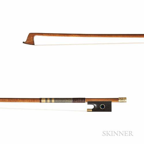 Gold-mounted Violin Bow, Henryk Kaston