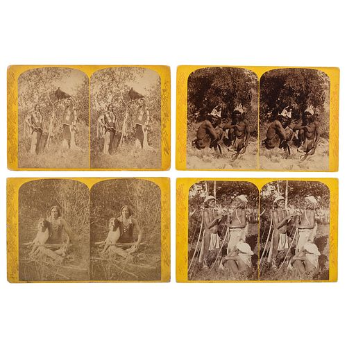 [WESTERN AMERICANA]. HILLERS, John Karl (1843-1925) & BEAMAN, Elias Ocott (active 1870s), photographers. A set of 55 Powell Survey stereoviews from th