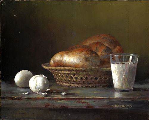 """""""Still life with bread"""" by Victor Mordasov, West Chester, PA"""