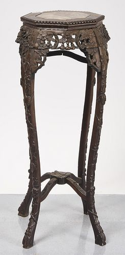 Chinese Carved Stand
