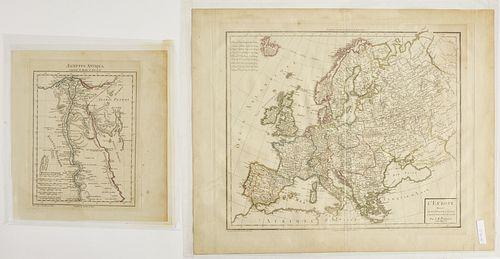 Lot of 6 Antique Maps