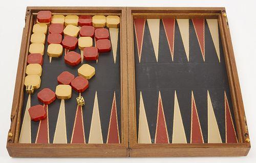 Folding Gameboard with Bakelite