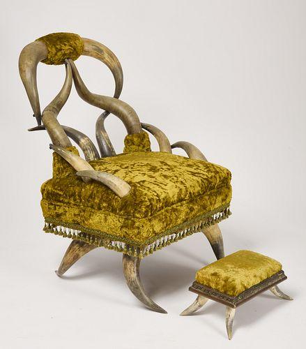 Horn Chair-19th century