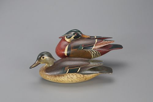 "Wood Duck Pair, Charles ""Shang"" Wheeler (1872-1949)"